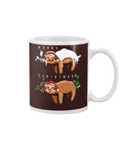Teehappy Sloth Christmas