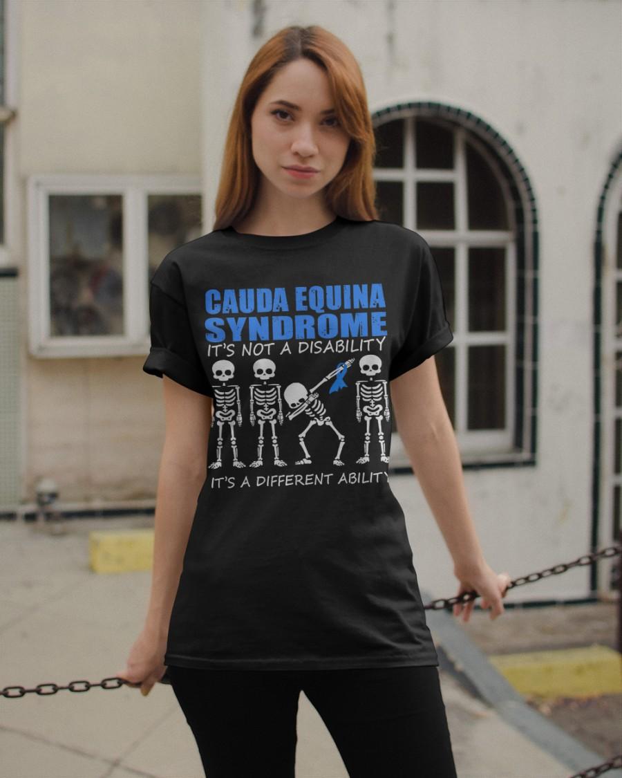 Cauda Equina Syndrome Tshirts