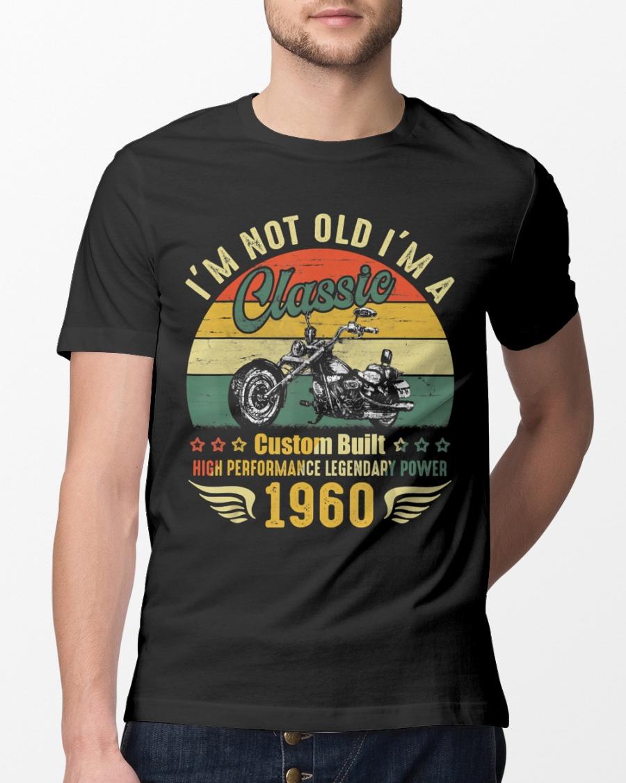 I Am Not Getting Older Standard Unisex T-shirt Motorcycle Legend Back Print