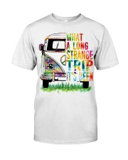 What A Long Strange Trip It Been Hippie Van Classic T-Shirt front