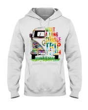 What A Long Strange Trip It Been Hippie Van Hooded Sweatshirt thumbnail