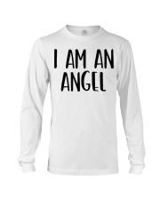 I Am A Angel Costume Halloween Im Lazy Easy Last  Long Sleeve Tee thumbnail