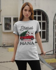 Blessed To Be Called Nana Christmas Red Truck  Classic T-Shirt apparel-classic-tshirt-lifestyle-19
