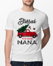Blessed To Be Called Nana Christmas Red Truck  Classic T-Shirt lifestyle-mens-crewneck-front-13