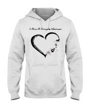 I Am A Simple Flip Flops Dog Wine Horse Hooded Sweatshirt thumbnail