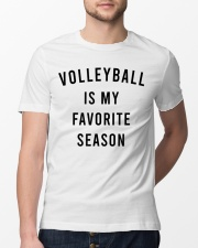 Volleyball Is My Favorite Season Classic T-Shirt lifestyle-mens-crewneck-front-13