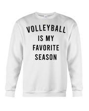 Volleyball Is My Favorite Season Crewneck Sweatshirt thumbnail