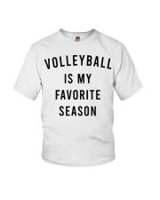 Volleyball Is My Favorite Season Youth T-Shirt thumbnail