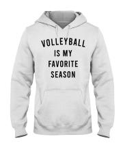 Volleyball Is My Favorite Season Hooded Sweatshirt thumbnail