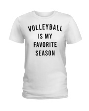 Volleyball Is My Favorite Season Ladies T-Shirt thumbnail