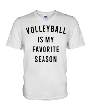 Volleyball Is My Favorite Season V-Neck T-Shirt thumbnail