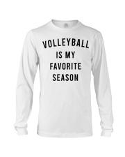Volleyball Is My Favorite Season Long Sleeve Tee thumbnail