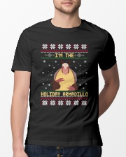 Im The Holiday Armadillo Christmas Sweater Ugly  Classic T-Shirt lifestyle-mens-crewneck-front-13