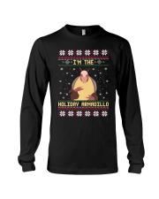 Im The Holiday Armadillo Christmas Sweater Ugly  Long Sleeve Tee thumbnail