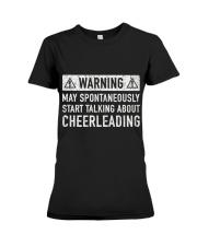 Cheerleading Related Gift Premium Fit Ladies Tee thumbnail