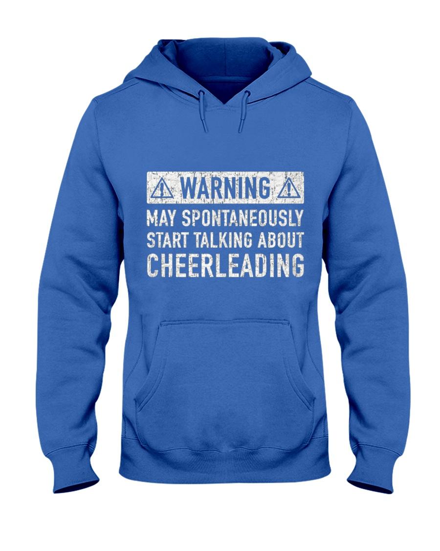 Cheerleading Related Gift Hooded Sweatshirt