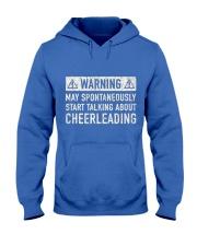 Cheerleading Related Gift Hooded Sweatshirt front