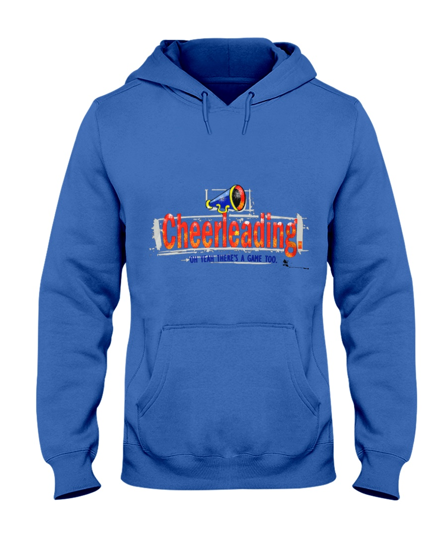 Cheerleading O Yeaah Mens Premium T S Hooded Sweatshirt