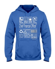Chief Financial Officer Multitasking Hooded Sweatshirt front