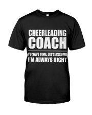 Cheerleading Coach Classic T-Shirt thumbnail
