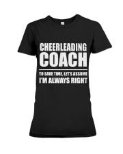 Cheerleading Coach Premium Fit Ladies Tee thumbnail