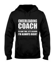 Cheerleading Coach Hooded Sweatshirt front