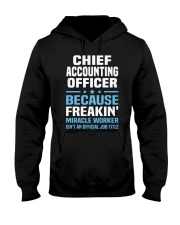 Chief Accounting Officer 3 1 Hooded Sweatshirt thumbnail