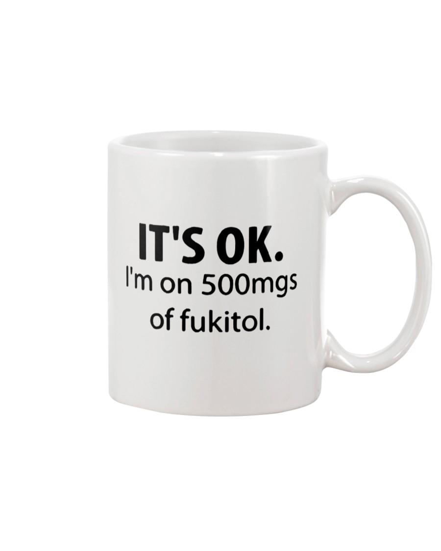 Funny Its Ok Im On Mug Mug
