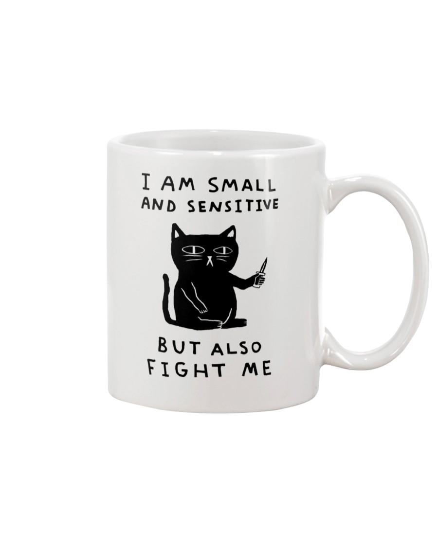 Funny I Am Small And Sensitive Mug Mug