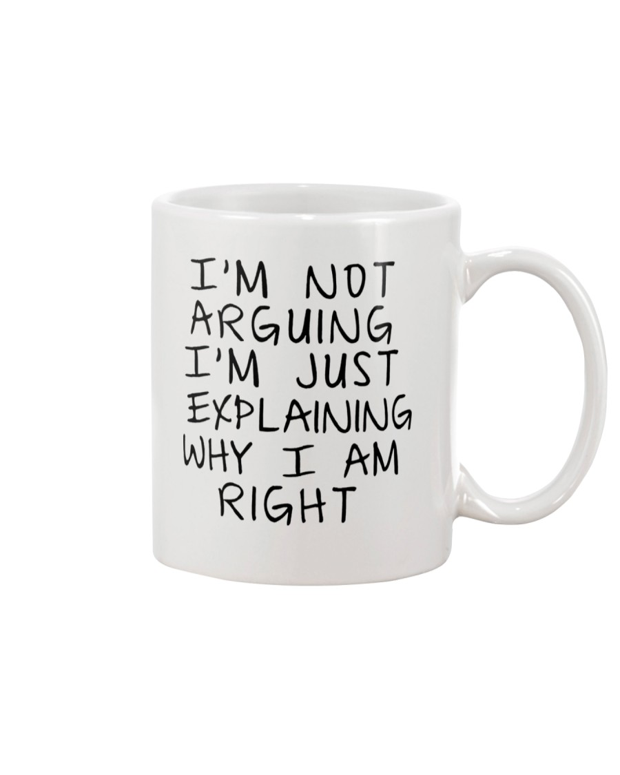 Im Not Arguing Funny Gift Mug Mug