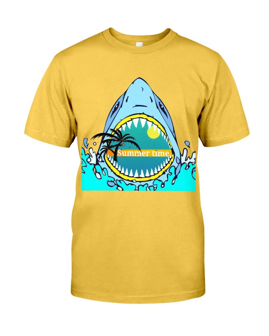 Summer vibes  shark Classic T-Shirt