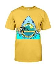 Summer vibes  shark Classic T-Shirt front