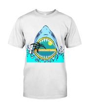 Summer vibes  shark Classic T-Shirt thumbnail