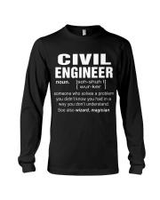 HOODIE CIVIL ENGINEER Long Sleeve Tee thumbnail