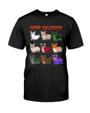 Cute Corgi Halloween Classic T-Shirt thumbnail