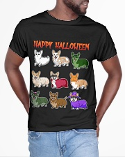 Cute Corgi Halloween All-over T-Shirt aos-all-over-T-shirt-lifestyle-front-04