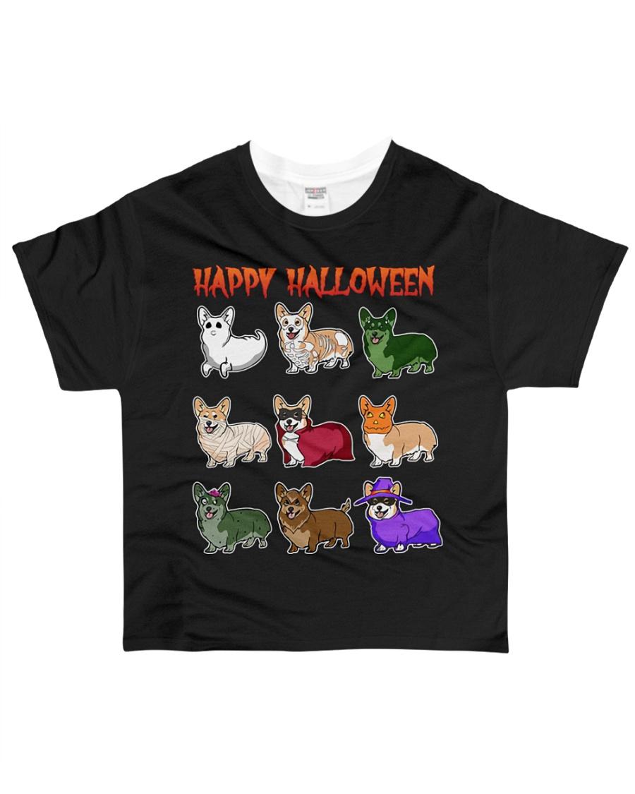Cute Corgi Halloween All-over T-Shirt