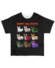 Cute Corgi Halloween All-over T-Shirt front