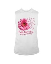 Faith Hope Love Support Shirt  Sleeveless Tee thumbnail