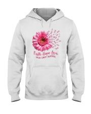 Faith Hope Love Support Shirt  Hooded Sweatshirt thumbnail