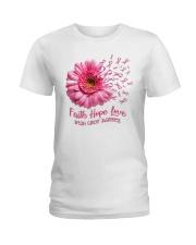 Faith Hope Love Support Shirt  Ladies T-Shirt thumbnail