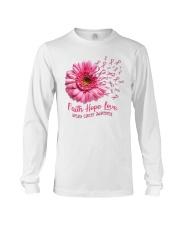 Faith Hope Love Support Shirt  Long Sleeve Tee thumbnail