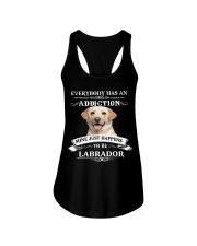 I LOVE LABRADOR Ladies Flowy Tank thumbnail