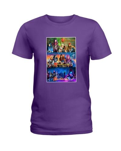 DESCENDANTS 1-2-3 Fans T-shirt