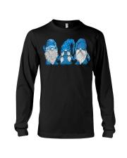 Hanging With Blue Gnomies Sweatshirt Long Sleeve Tee thumbnail