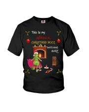 Grinch This is my Hallmark Christmas movie shirt Youth T-Shirt thumbnail