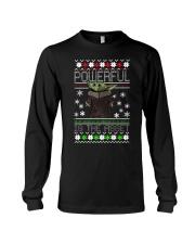 Powerful is the asset Christmas Baby Yoda shirt Long Sleeve Tee thumbnail
