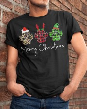 Dog Paws Merry Christmas shirt Classic T-Shirt apparel-classic-tshirt-lifestyle-26
