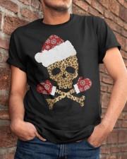 Skull Leopard Santa Claus Christmas shirt Classic T-Shirt apparel-classic-tshirt-lifestyle-26