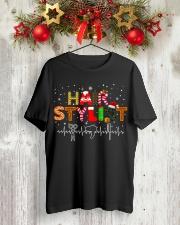 Hair Stylist Christmas shirt Classic T-Shirt lifestyle-holiday-crewneck-front-2